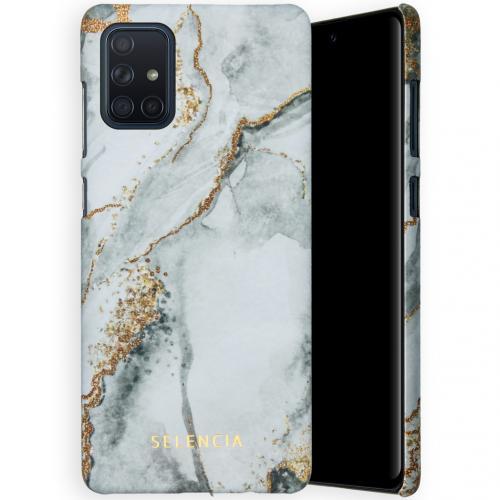 Maya Fashion Backcover voor de Samsung Galaxy A71 - Marble Stone