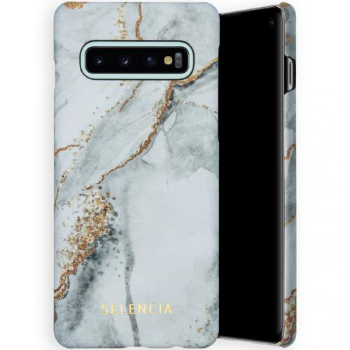 Maya Fashion Backcover voor de Samsung Galaxy S10 - Marble Stone