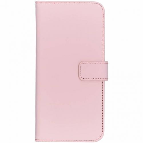 Nokia 7.1 hoesje Roze - Luxe TPU Book Case