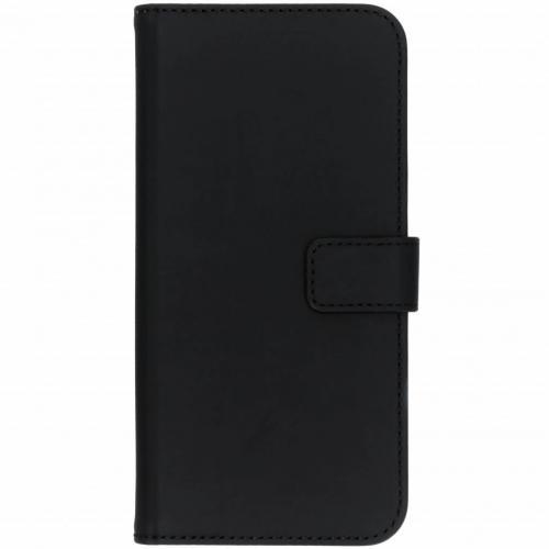 Nokia 7.1 hoesje Zwart - Luxe TPU Book Case