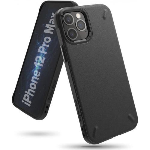 Onyx Backcover voor de iPhone 12 Pro Max - Zwart