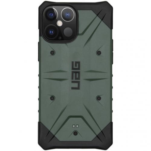 Pathfinder Backcover voor de iPhone 12 Pro Max - Groen