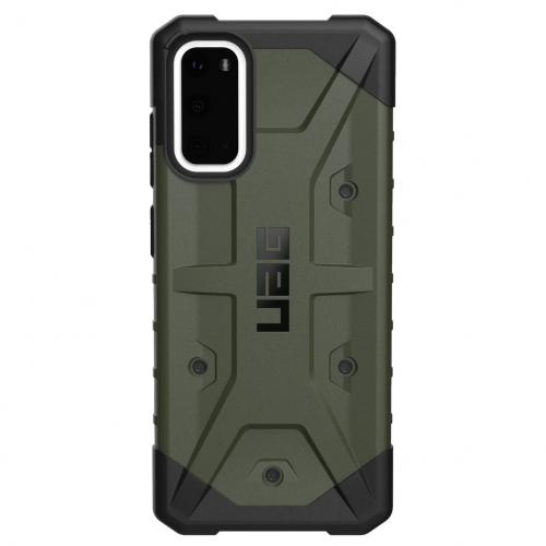 Pathfinder Backcover voor de Samsung Galaxy S20 - Olive