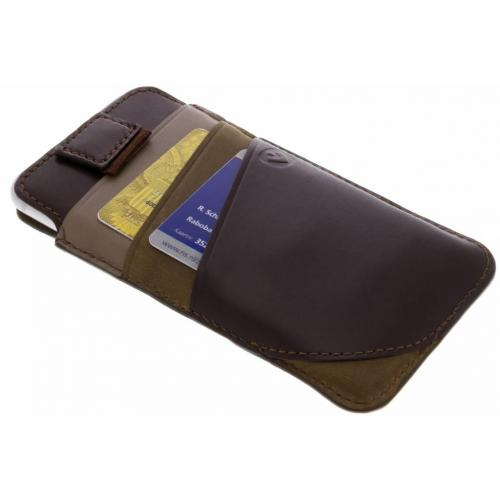 Pocket Supreme Insteekhoes voor iPhone 8 / 7 / 6s / 6 - Bruin