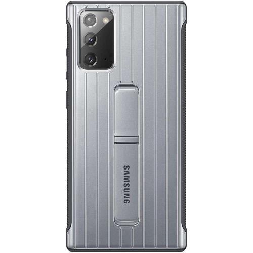 Protective Standing Backcover voor de Galaxy Note 20 - Zilver