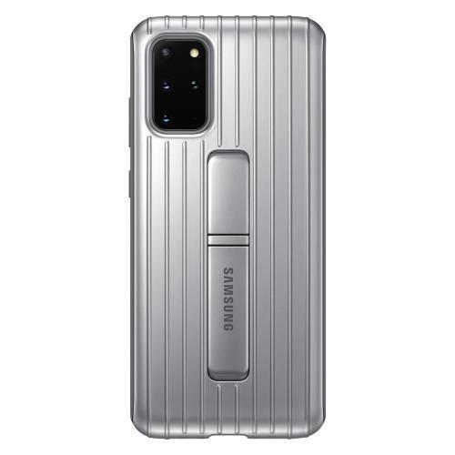 Protective Standing Backcover voor de Galaxy S20 Plus - Zilver