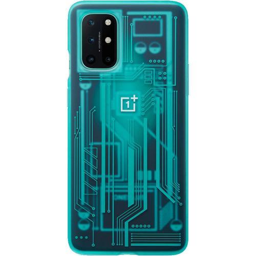 Quantum Bumper Case voor de OnePlus 8T - Cyborg Cyan