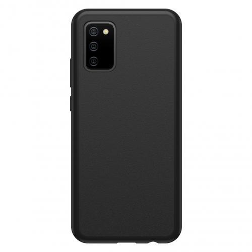 React Backcover voor de Samsung Galaxy A02s - Zwart