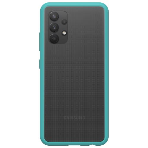 React Backcover voor de Samsung Galaxy A32 (4G) - Transparant / Blauw
