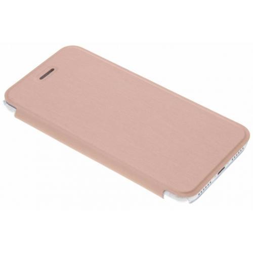Rosé Gouden Book Case voor de iPhone 8 / 7 / 6 / 6s