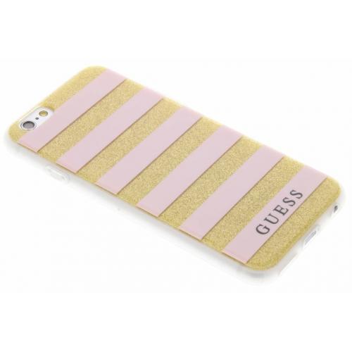 Roze Stripes Gel Case voor de iPhone 6 / 6s