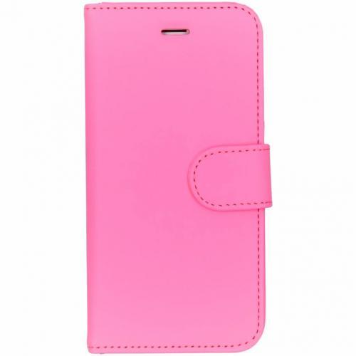 Roze Wallet TPU Booklet voor de iPhone 8 / 7 / 6 / 6s