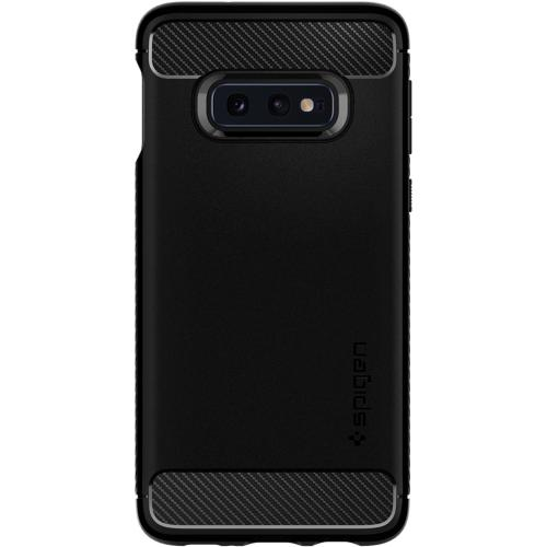 Rugged Armor Backcover voor de Samsung Galaxy S10 Lite - Zwart