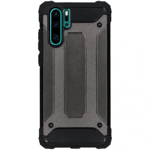 Rugged Xtreme Backcover voor de Huawei P30 Pro - Zwart