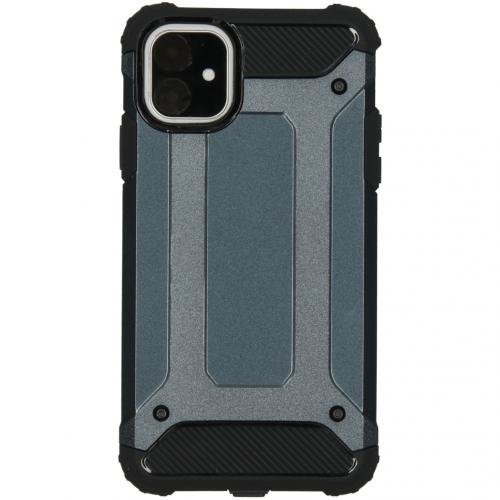 Rugged Xtreme Backcover voor de iPhone 11 - Donkerblauw