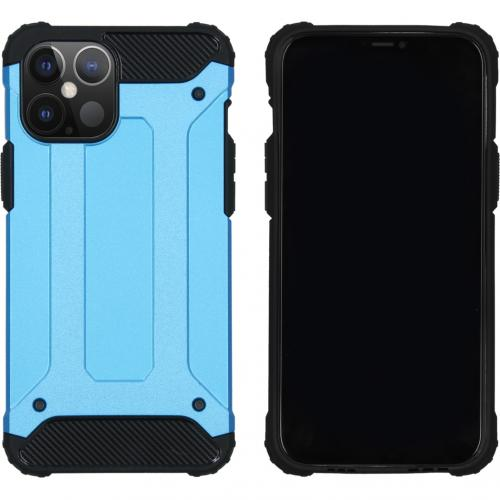 Rugged Xtreme Backcover voor de iPhone 12 6.7 inch - Lichtblauw