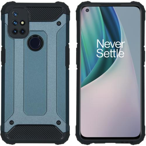 Rugged Xtreme Backcover voor de OnePlus Nord N10 5G - Donkerblauw
