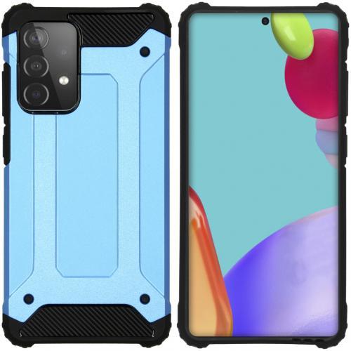 Rugged Xtreme Backcover voor de Samsung Galaxy A52 (5G) / A52 (4G) - Lichtblauw