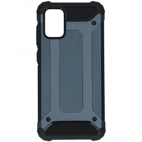 Rugged Xtreme Backcover voor de Samsung Galaxy A71 - Donkerblauw