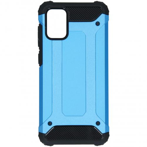 Rugged Xtreme Backcover voor de Samsung Galaxy A71 - Lichtblauw