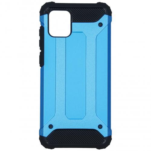 Rugged Xtreme Backcover voor de Samsung Galaxy Note 10 Lite - Lichtblauw