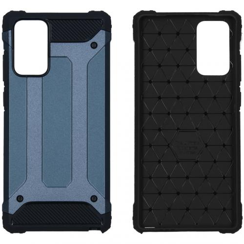 Rugged Xtreme Backcover voor de Samsung Galaxy Note 20 - Donkerblauw