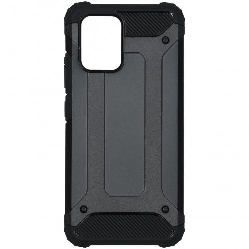 Rugged Xtreme Backcover voor de Samsung Galaxy S10 Lite - Zwart