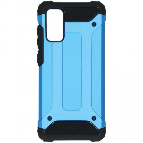 Rugged Xtreme Backcover voor de Samsung Galaxy S20 - Lichtblauw