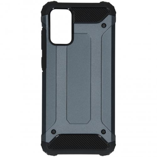 Rugged Xtreme Backcover voor de Samsung Galaxy S20 Plus - Donkerblauw