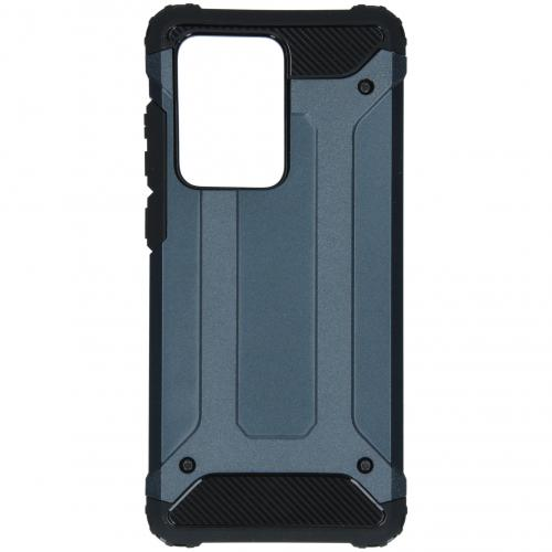 Rugged Xtreme Backcover voor de Samsung Galaxy S20 Ultra - Donkerblauw