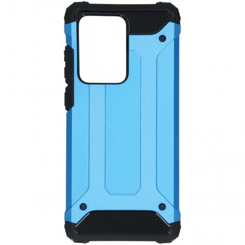 Rugged Xtreme Backcover voor de Samsung Galaxy S20 Ultra - Lichtblauw