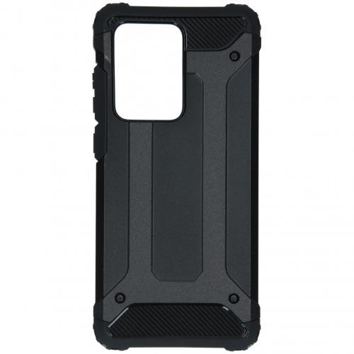 Rugged Xtreme Backcover voor de Samsung Galaxy S20 Ultra - Zwart