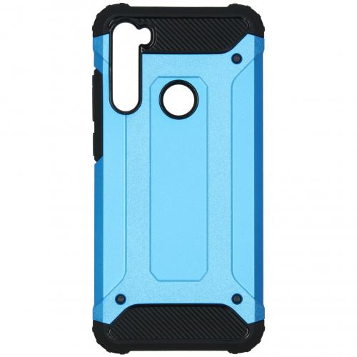 Rugged Xtreme Backcover voor de Xiaomi Redmi Note 8T - Lichtblauw