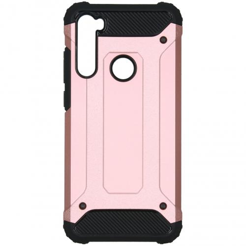 Rugged Xtreme Backcover voor de Xiaomi Redmi Note 8T - Rosé Goud