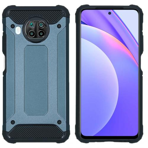 Rugged Xtreme Backcover voor de Xiaomi Redmi Note 9T (5G) - Donkerblauw