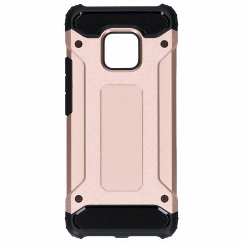 Rugged Xtreme Backcover voor Huawei Mate 20 Pro - Rosé goud