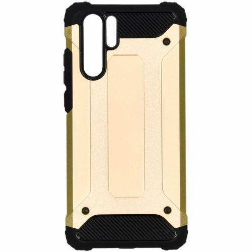 Rugged Xtreme Backcover voor Huawei P30 Pro - Goud
