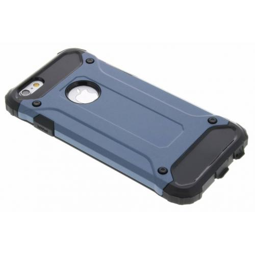 Rugged Xtreme Backcover voor iPhone 6 / 6s - Donkerblauw