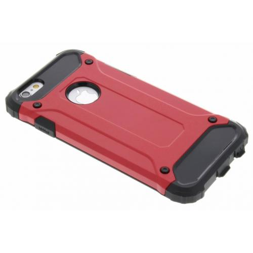 Rugged Xtreme Backcover voor iPhone 6 / 6s - Rood