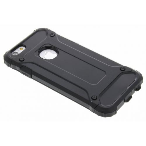 Rugged Xtreme Backcover voor iPhone 6 / 6s - Zwart