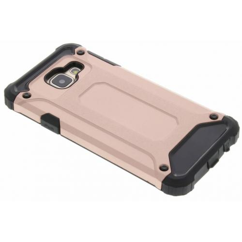Rugged Xtreme Backcover voor Samsung Galaxy A3 (2016) - Rosé goud