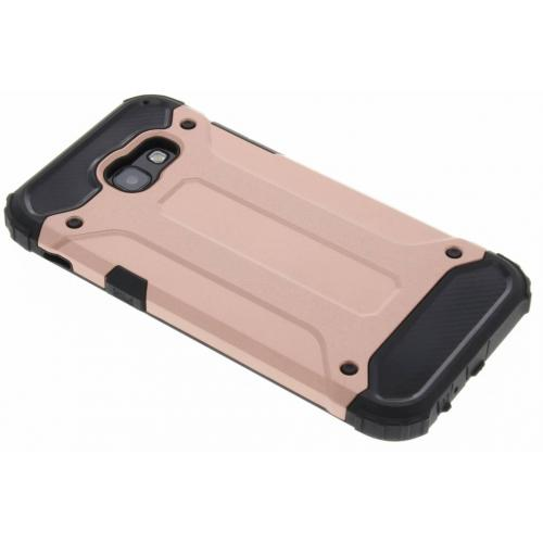 Rugged Xtreme Backcover voor Samsung Galaxy A5 (2017) - Rosé goud