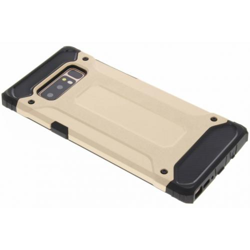 Rugged Xtreme Backcover voor Samsung Galaxy Note 8 - Goud