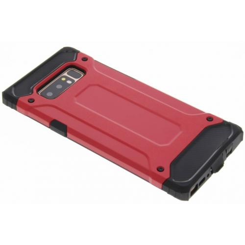 Rugged Xtreme Backcover voor Samsung Galaxy Note 8 - Rood