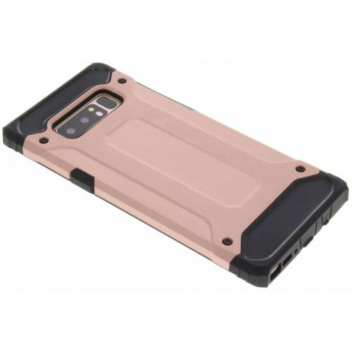 Rugged Xtreme Backcover voor Samsung Galaxy Note 8 - Rosé goud