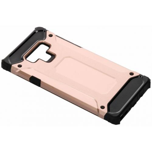 Rugged Xtreme Backcover voor Samsung Galaxy Note 9 - Rosé goud