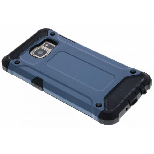 Rugged Xtreme Backcover voor Samsung Galaxy S7 - Donkerblauw