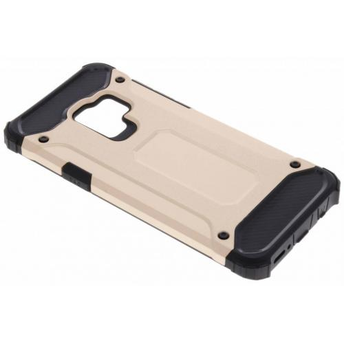 Rugged Xtreme Backcover voor Samsung Galaxy S9 Plus - Goud