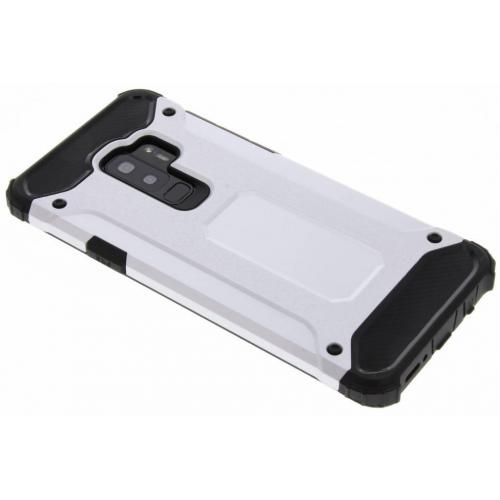 Rugged Xtreme Backcover voor Samsung Galaxy S9 Plus - Zilver