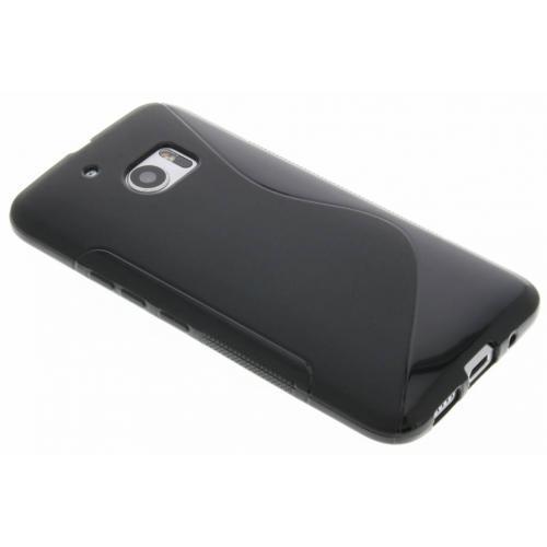 S-line Backcover voor HTC 10 - Zwart